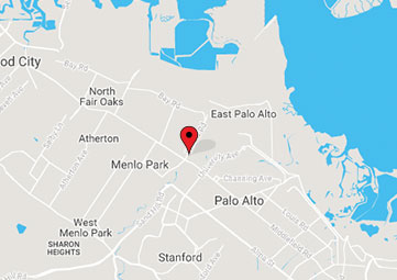Map of Menlo Park office